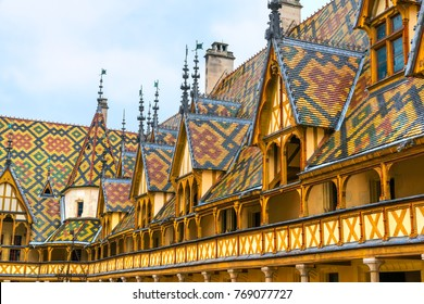 Hotel Dieu, Beaune, Burcundy, France