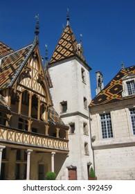 Hotel Dieu, Beaune, France.