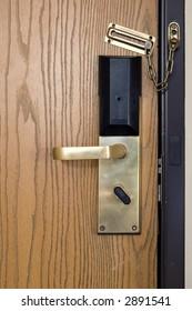 Hotel Door #448