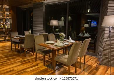 Hotel inside lobby Luxuriously precious luxury equipment