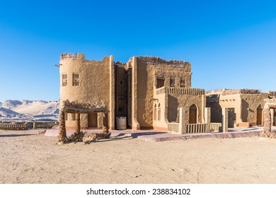 Hotel in the middle of the Dakhla Oasis, Western Desert,  Egypt