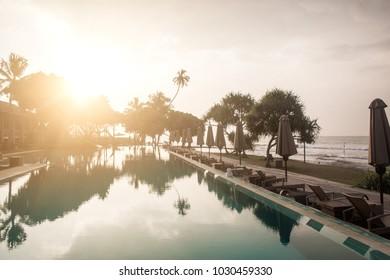 hotel on the island of Sri Lanka