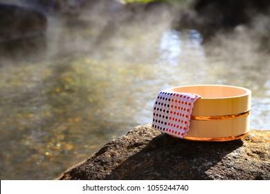 Hotel open air bath - hot spring