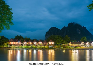 hotel in Paradise in vang vieng lao
