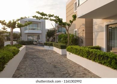 Hotel resort compound