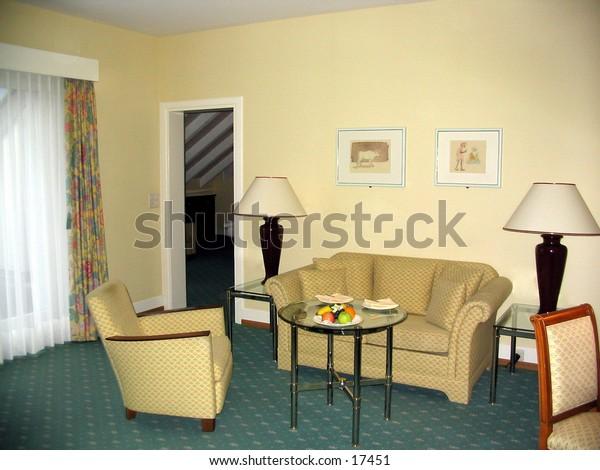 Hotel room interrior