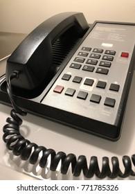 Hotel room telephone