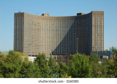 """Hotel """"Cosmos"""". Russia. Moscow."""