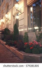 Hotel sidewall