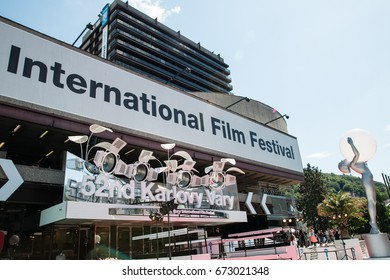 Hotel Thermal, 52th International Film Festival Karlovy Vary, Czech Republic, July 1th 2017, Editorial Photo