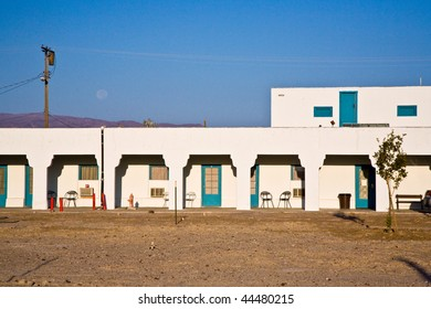 """Hotel in village """"Death valley Junction""""  an old Borax Mining spot at the entrance of the Death valley"""