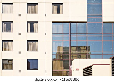 Hotel Windows and Reflections