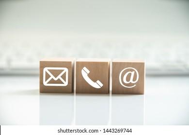 Hotline-Support-Kontaktkommunikationskonzept