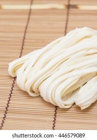Hoto. Japanese wheat flour noodles