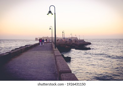 hotos of the surroundings of La Caleta, La Caleta is a beach located in the historic center of the city of Cádiz (Spain). It was a natural port where Phoenician, Carthaginian and Roman ships anchored