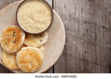 Hotteok pancake korean dessert
