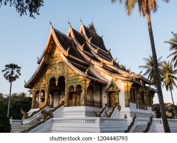 Houay Xai, Laos - January 21, 2018: Royal palace temple, Luang Prabang