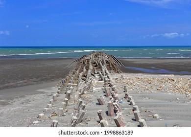 Houlong Beach near Miaoli County, Houlong Township Taiwan