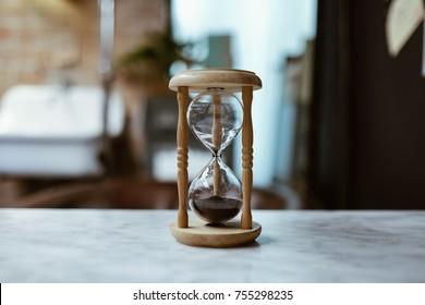 Hourglass  old vintage clock, Sand clock