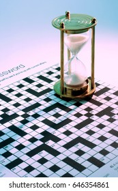 Hourglass on Puzzle