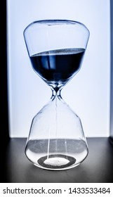 A Hourglass photo taken from a hotel