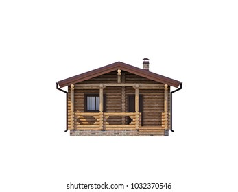 House, 3d, background