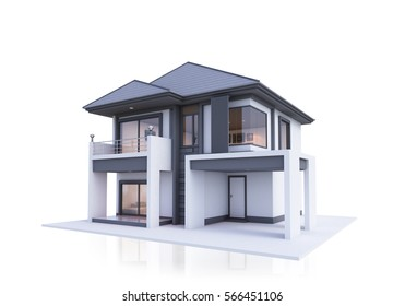 house 3d rendering - Free 3d House