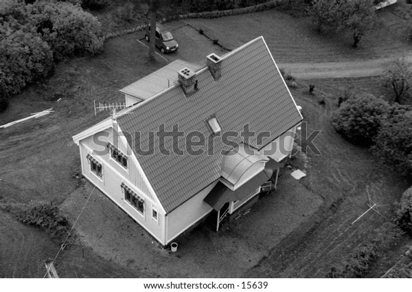 House from above