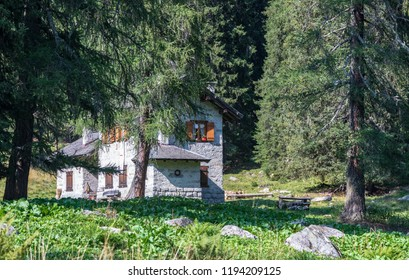 House in the Alps, Madonna di Campiglio, Trentino
