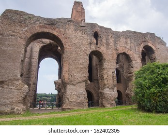 House of Augustus is the first major site upon entering the Palatine Hill in Rome, Italy. It served as the primary residence of Caesar Augustus during his reign.