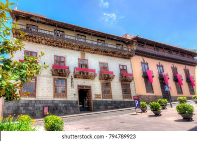 House of the Balconies (La Casa de los Balcones), La Orotava, Tenerife, Canary islands, Spain