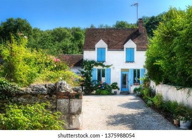 House in the Beautiful Village of Chedigny in the Loire Valley, France