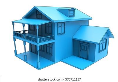 House blueprint.