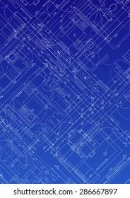 House Blueprint plan