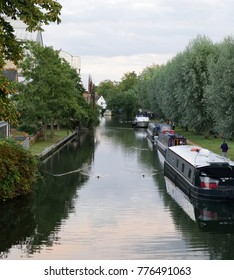 House boats on the river Thames in Oxford
