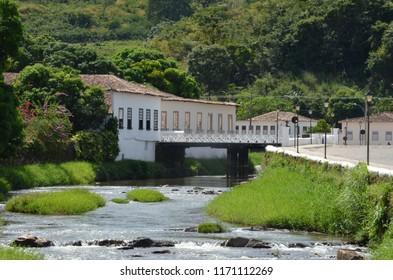 House of Brazilian poet in Cidade de Goias Brazil