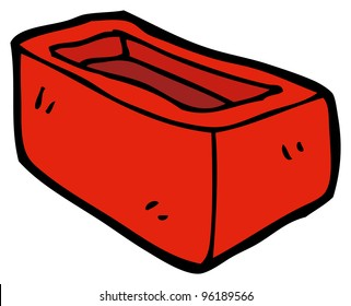 house brick cartoon
