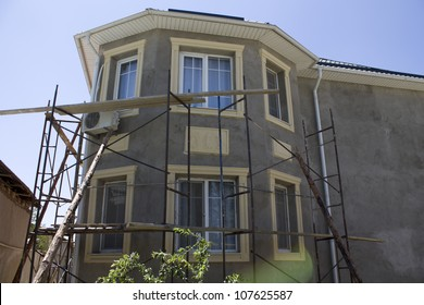 the house is a building