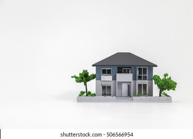 house building miniature model