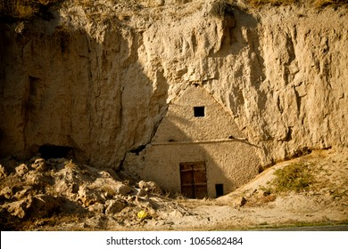 House in a cave.