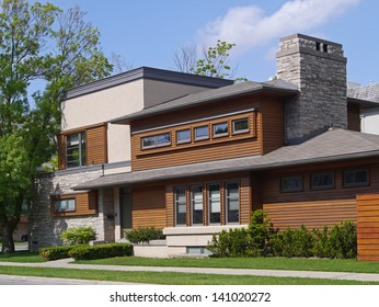 house with cedar trim