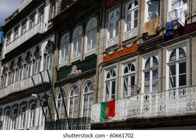 house in the city of Guimaraes in Portugal