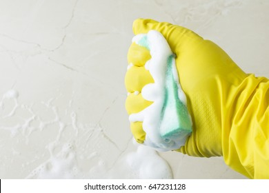 House cleaning and hygiene. Tools for cleaning.