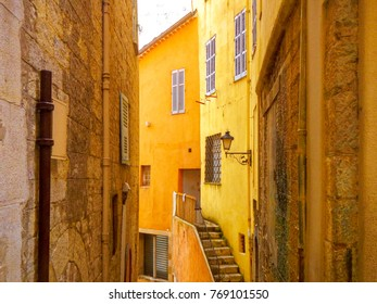 House close-up in Grasse village France