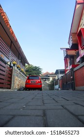 House Cluster in Yogyakarta City, Indonesia - May 13 2019 ( This Picture Was Taken Outdoor in the Morning, it shows how peaceful yogyakarta cluster is)