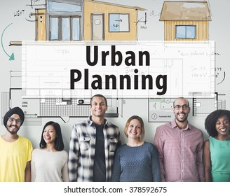 Conceptualize Create Masterplan Drawing Concept Stock Photo (Edit