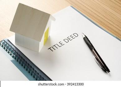 house deed