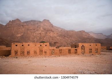 A house in desert