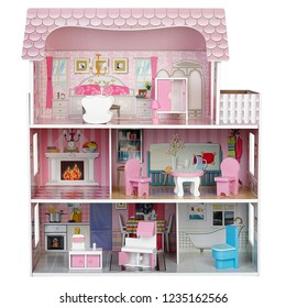 house of dolls with furniture