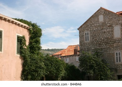 House in Dubrovnik, Croatia.